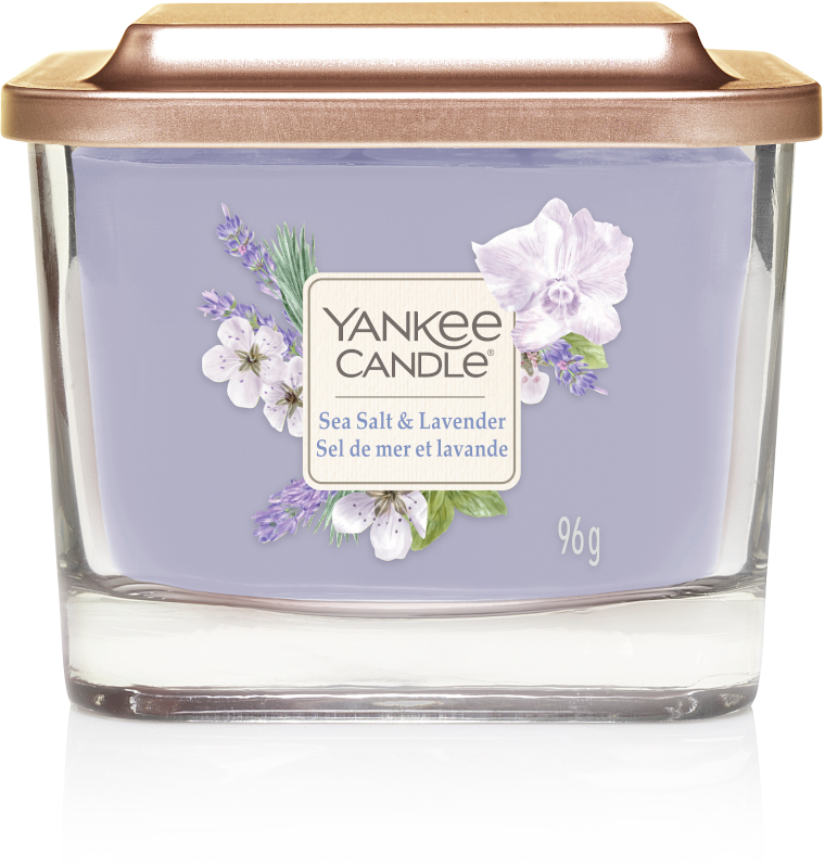 Yankee Candle - Sea Salt & Lavender - Small Vessel