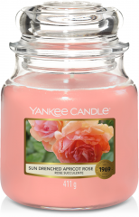 Yankee Candle - Sun-drenched Apricot Rose - Medium jar
