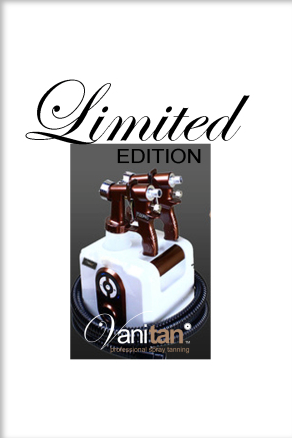 Qubizz 'Limited Edition' spray tanning starterskit