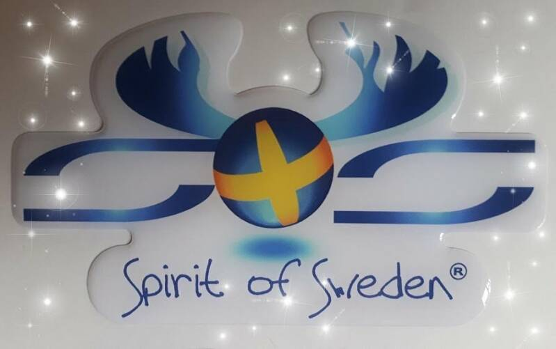 Spirit of Sweden logosticker