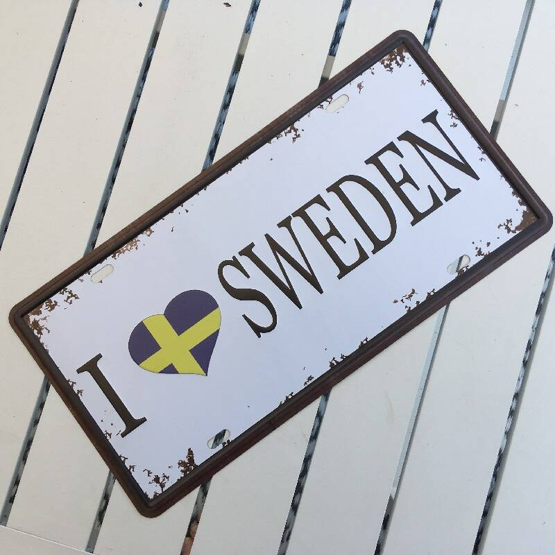 I love SWEDEN bord