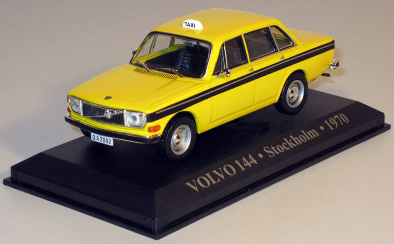 Taxi Stockholm 1970