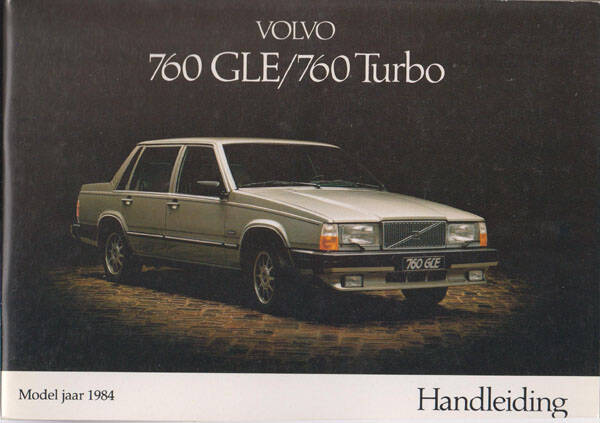 Manual - 1984 - Volvo 760 GLE/ 760 TURBO