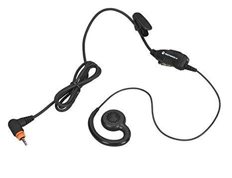 Swivel earpiece with in-line mic and PTT (PMLN7189A)
