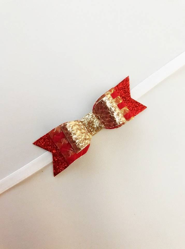 haarband | red & gold