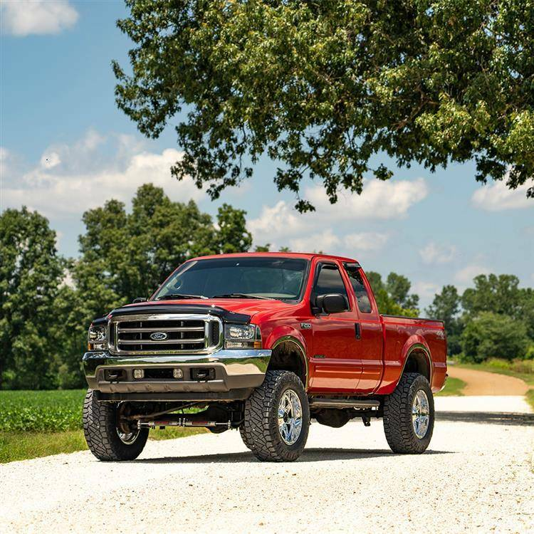"""Verhogingsset 8"""" Rough Country Ford F250 2008 tot 2010"""