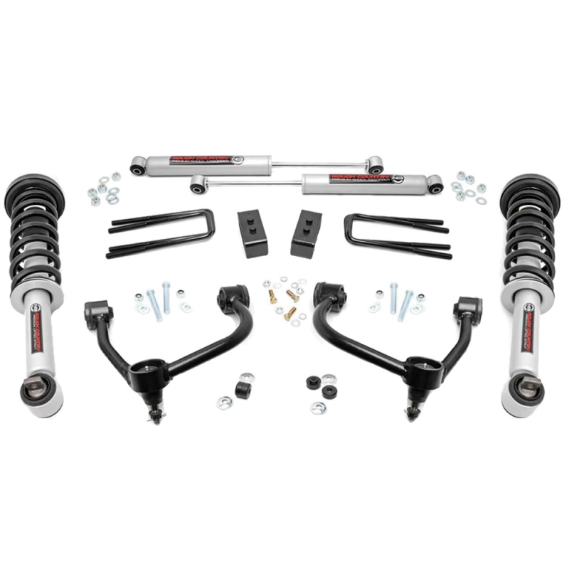 Rough Country 3'' lift kit F150 2014-2019