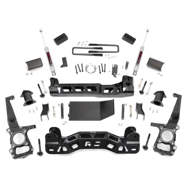 Rough Country 4'' lift kit F150