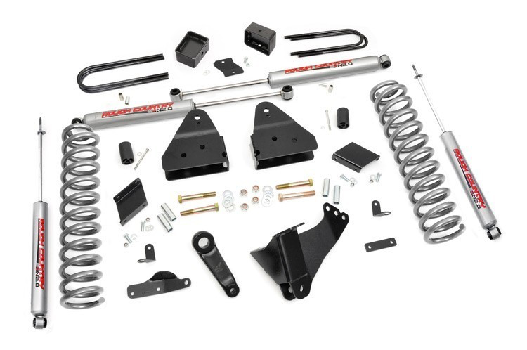Rough Country 4.5'' lift kit F250 4wd 2011-2014