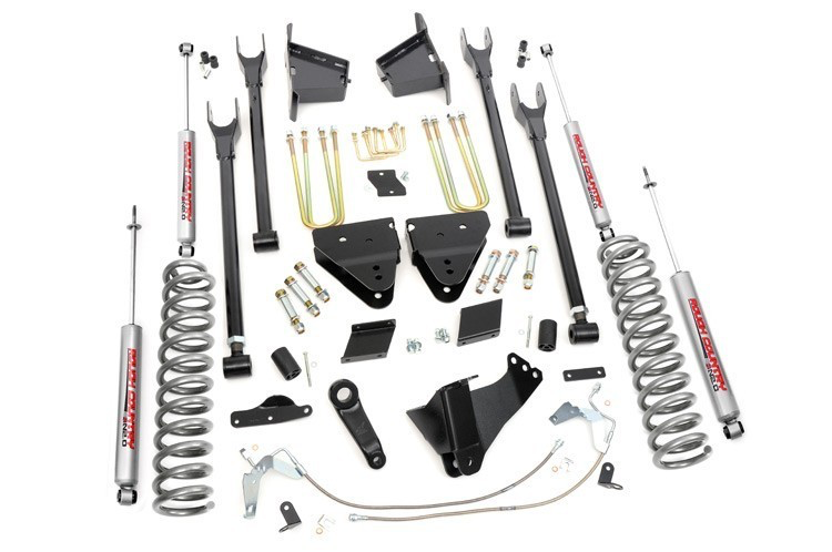 Rough Country 6'' lift kit F250 4wd  2011-2014