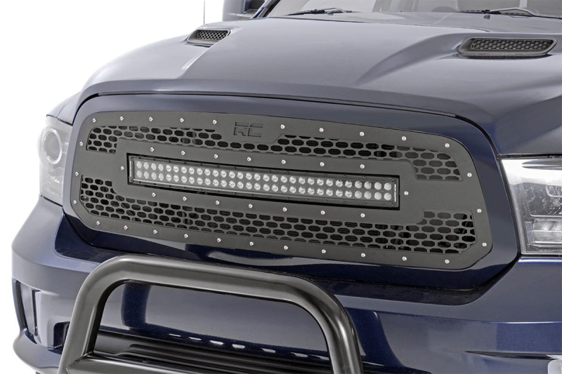 Rough Country Grille met 30'' led bar Ram 1500 2013-2018