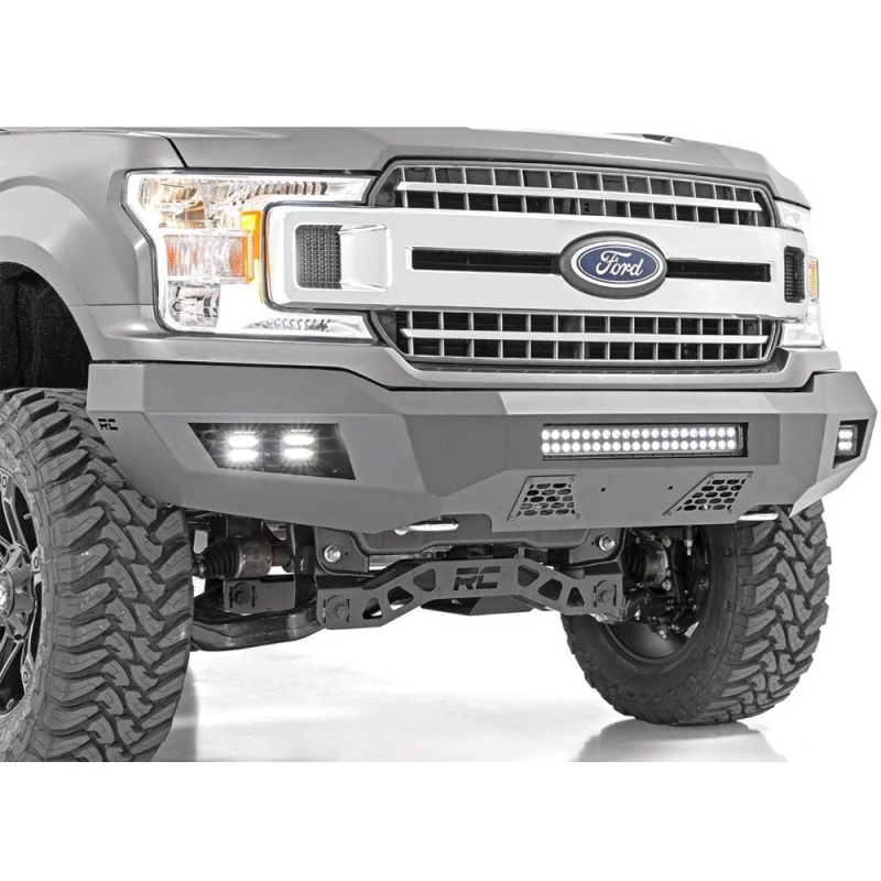 Rough County stalen bumper F150 incl Led lampen