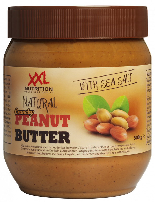Natural Peanut Butter Crunchy / Natural 500 gram