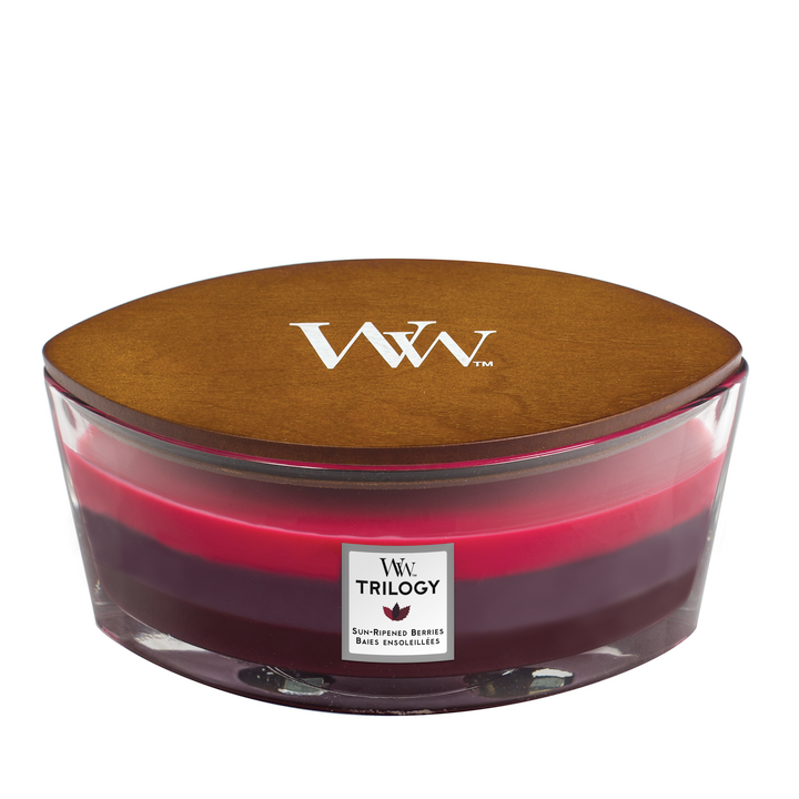 Trilogy Sun Ripened Berries Ellipse Candle