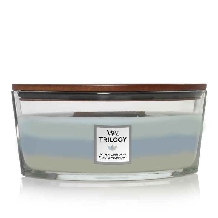 Trilogy Woven Comforts Ellipse Candle