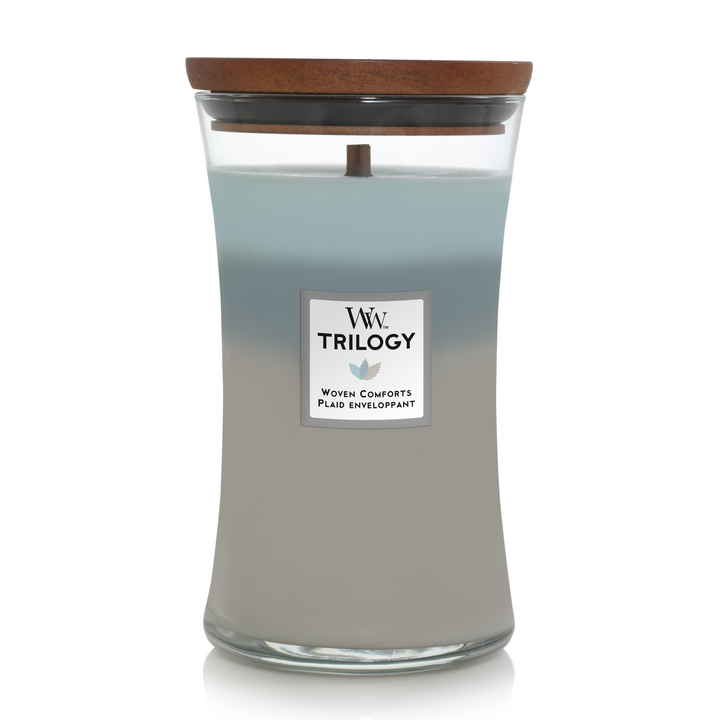 Trilogy Woven Comforts Large Candle