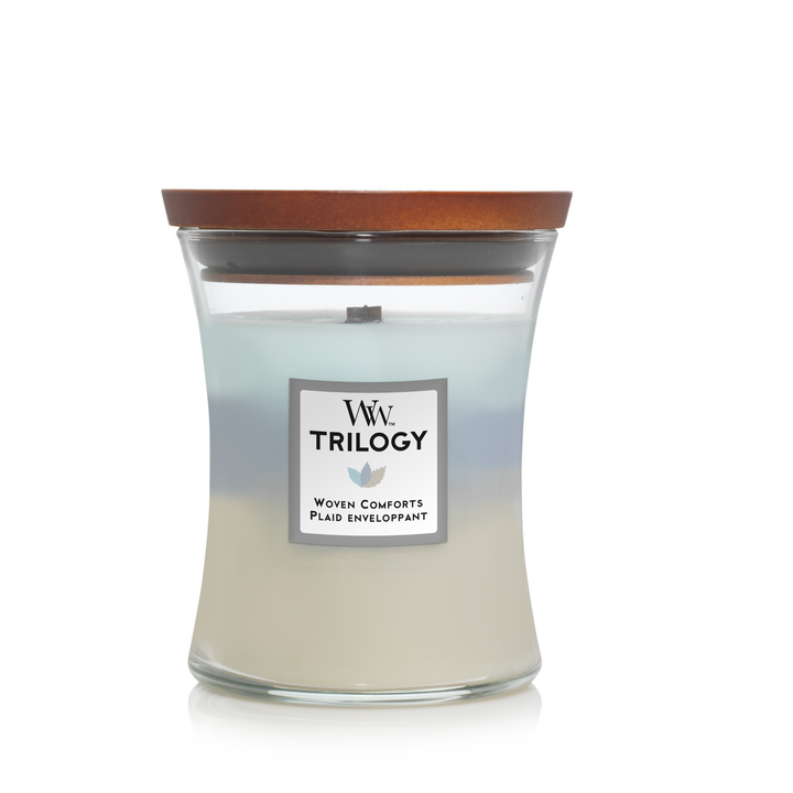 Trilogy Woven Comforts Medium Candle