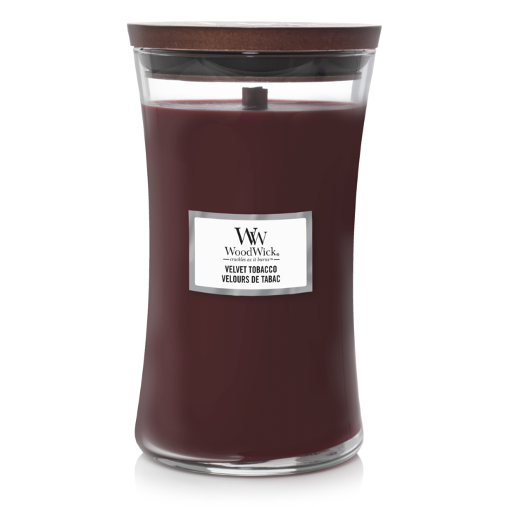 Velvet Tobacco Large Candle