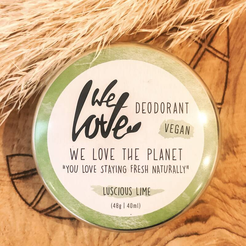 We Love The Planet natuurlijke vegan deodorant Luscious Lime