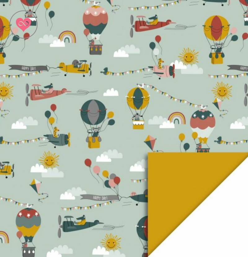 Cadeaupapier | Air | House of Products | Dubbelzijdig