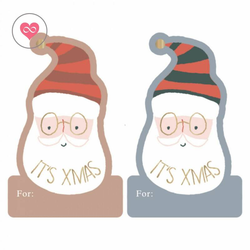 Kerst | Stickers | X-mas Stickers Duo | House of Products | Set van 10