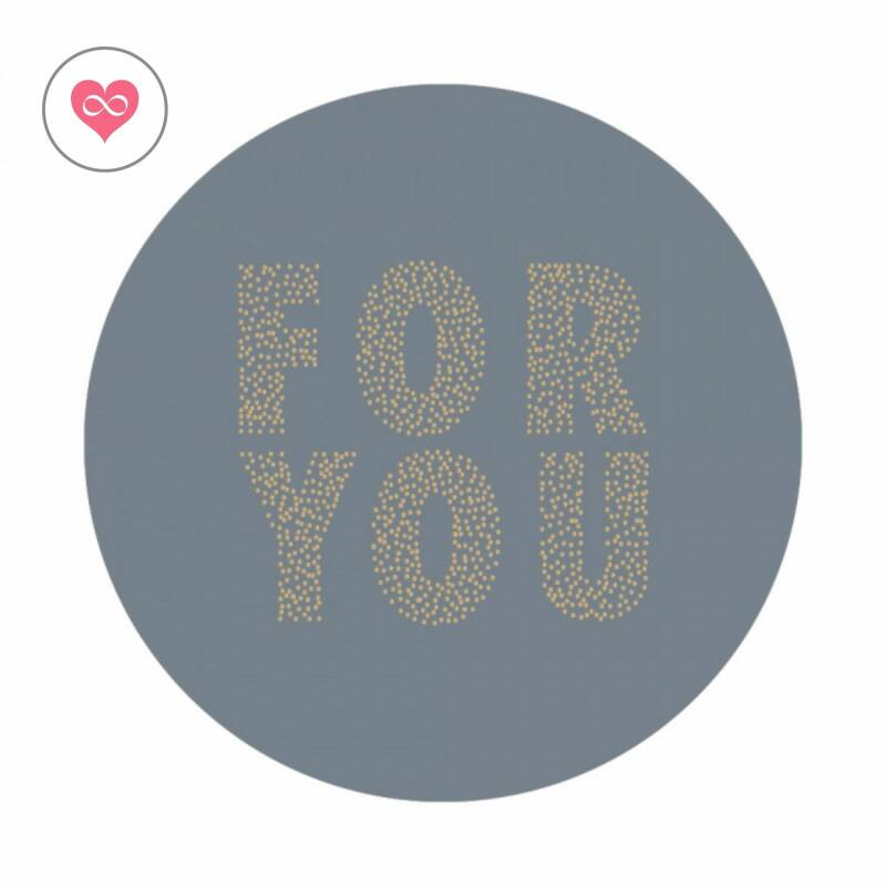 Stickers   For you   Set van 8   Sky Blue   House of Products   HOP