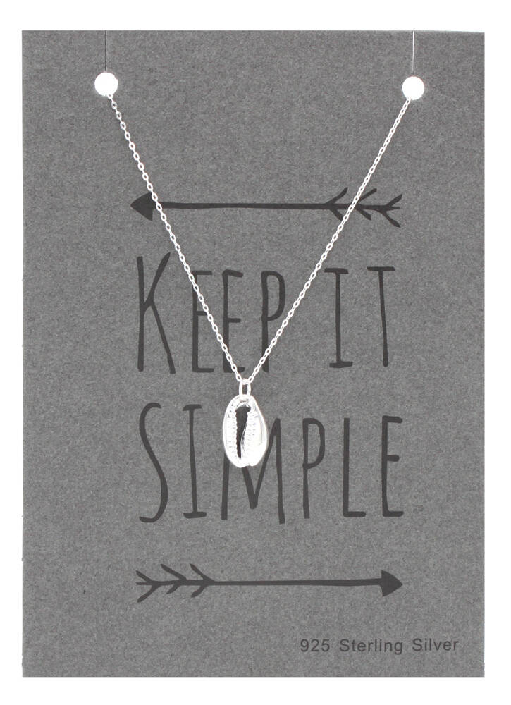 Sterling Silver Schelp Ketting