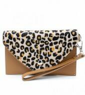 Bag Clutch Half Panter