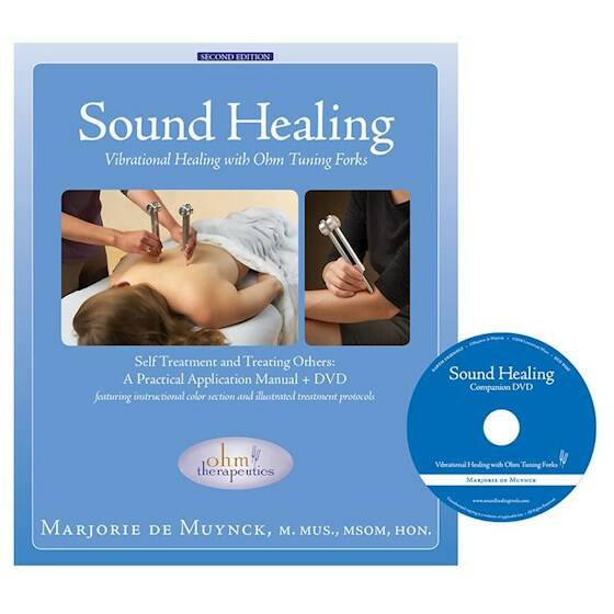 Sound Healing with Tuning Forks boek + DVD Engels