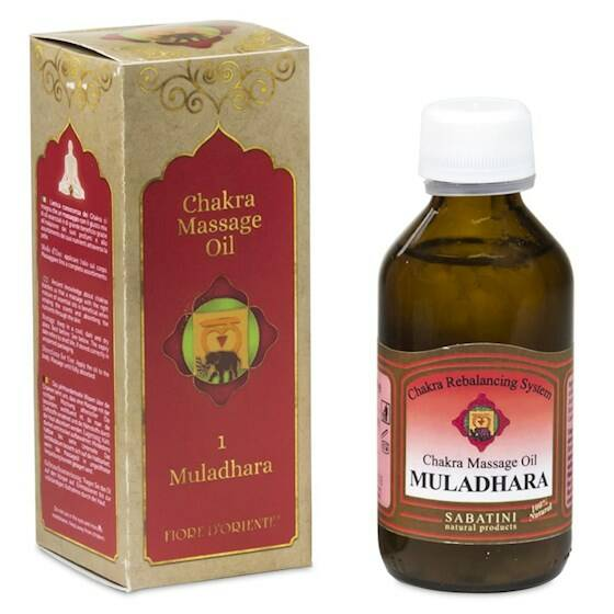 Massageolie chakras diverse 100 ml