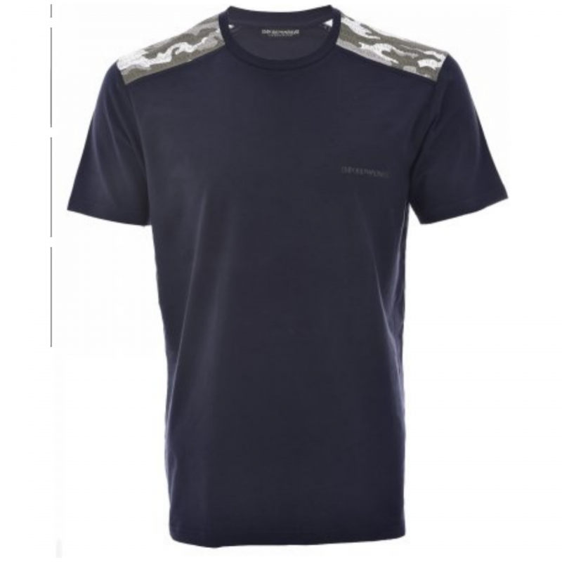 EMPORIO ARMANI T`SHIRT BLUE /WHITE/ARMY GREEN