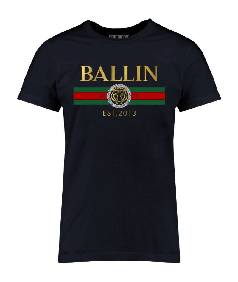 BALLIN T`SHIRT NAVY BLUE
