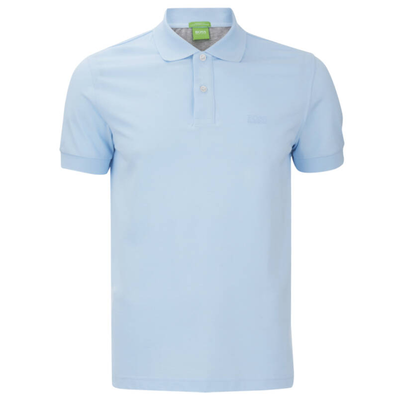 BOSS POLO LIGHT BLUE