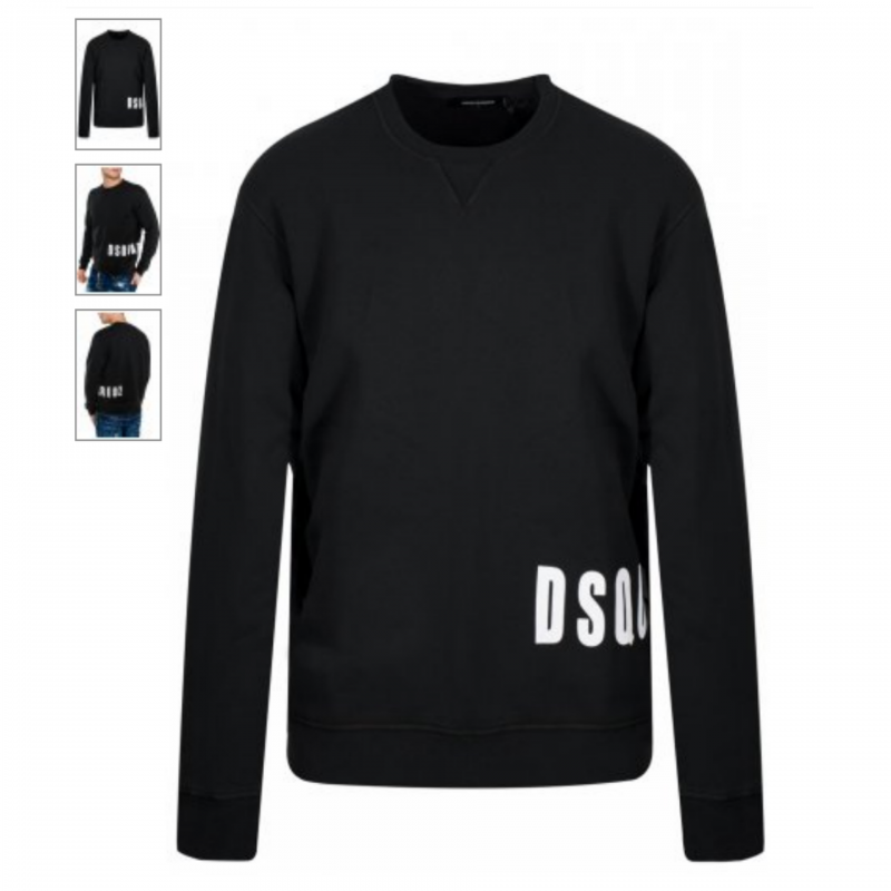 DSQUARED2 SWEATER BLACK