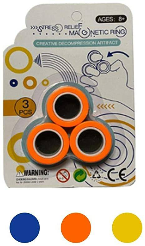 STRESS RELIEF MAGNETIC RING
