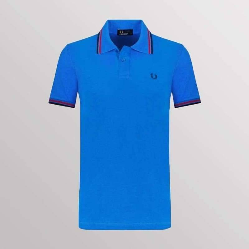 FRED PERRY POLO BLUE