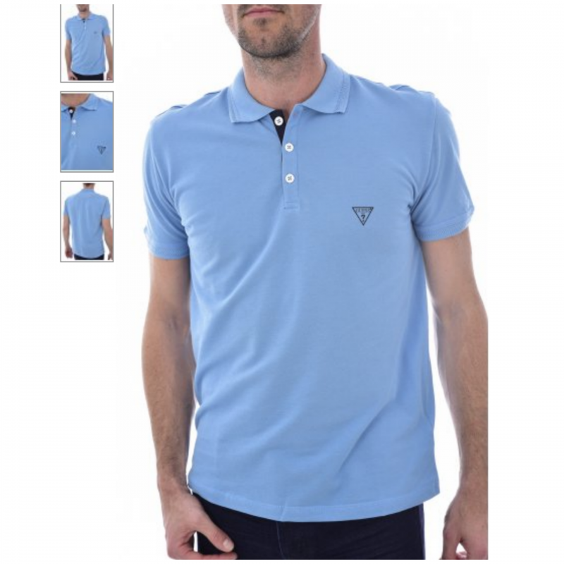 GUESS POLO LIGHT BLUE