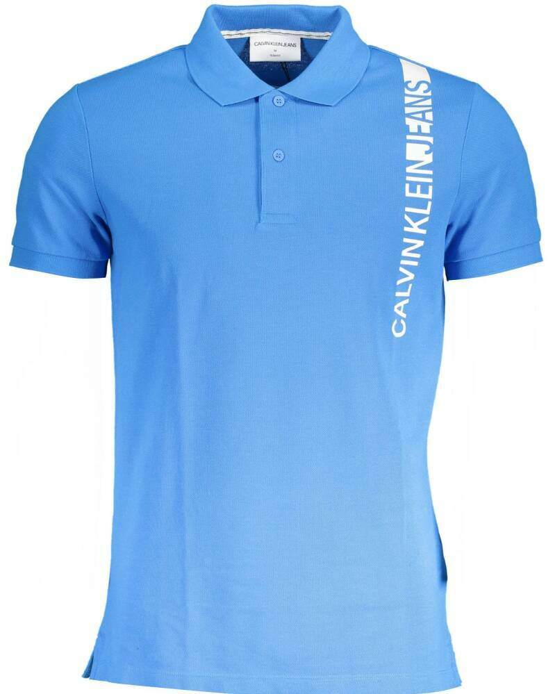 CALVIN KLEIN POLO BLUE
