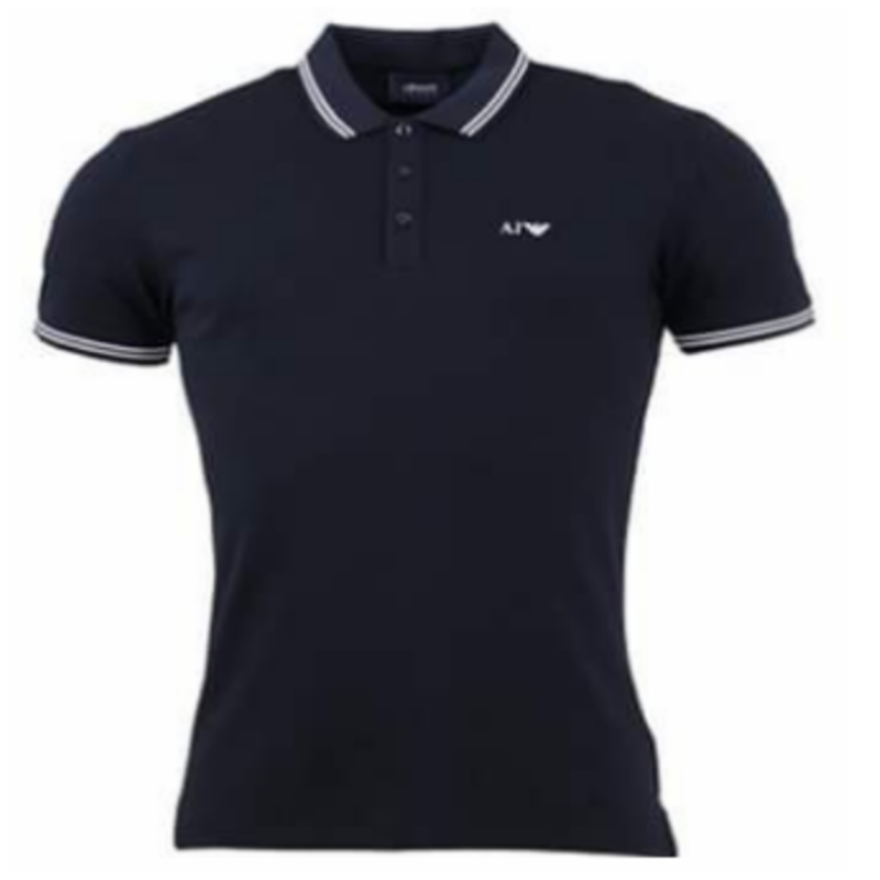 ARMANI JEANS POLO DARK BLUE
