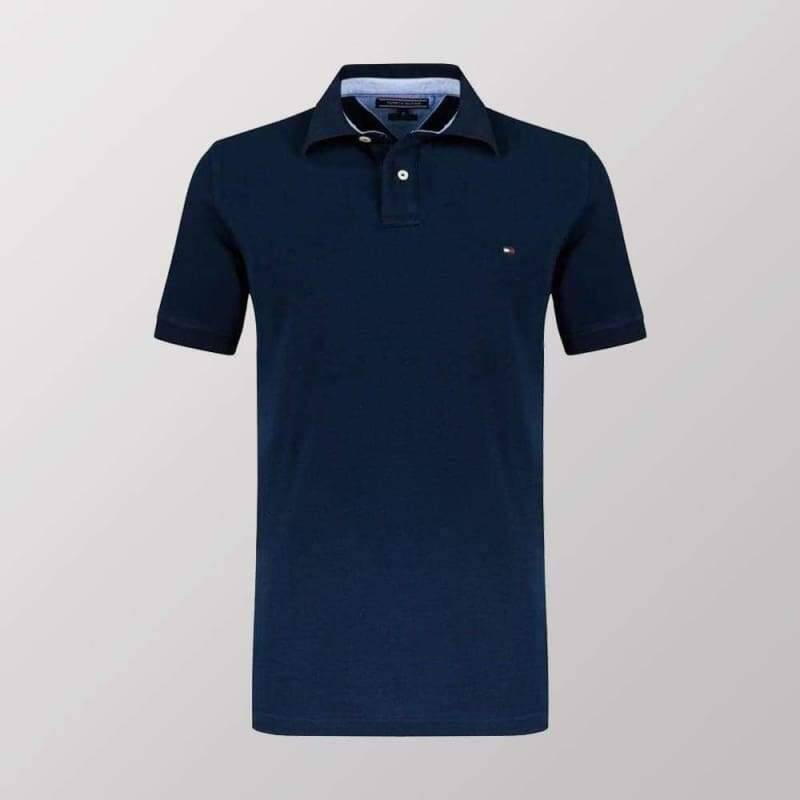 TOMMY HILFIGER POLO NAVY BLUE