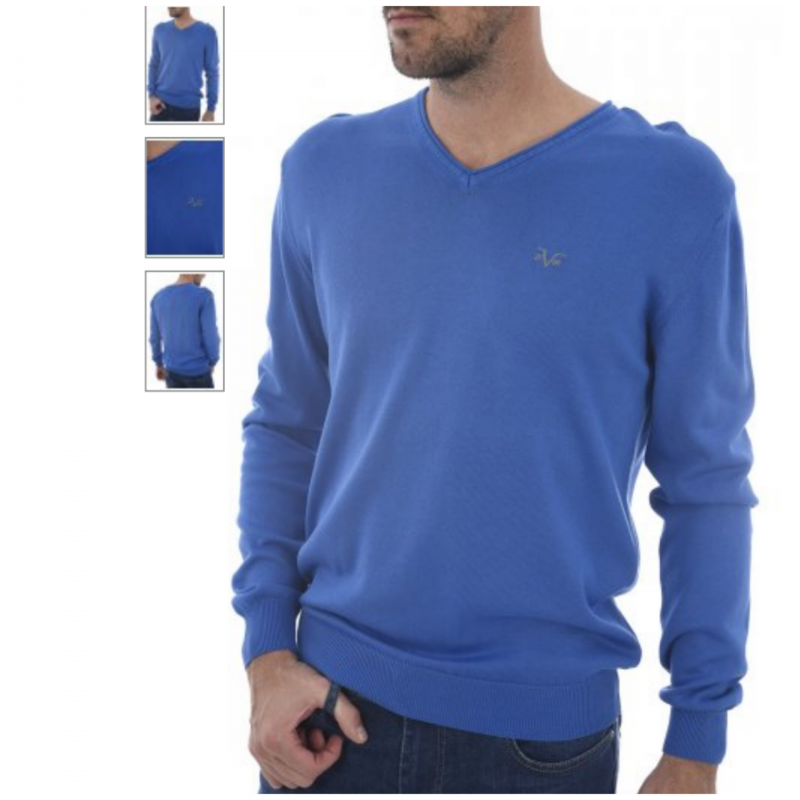 VERSACE 1969 PULLOVER BLUE