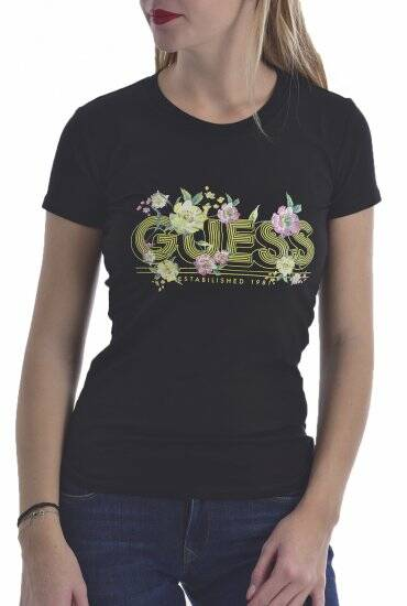 Guess t'shirt zwart