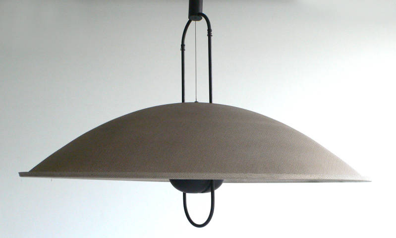 Italian Design Adjustable Light Hanging Lamp MACUMBA 117 by Orni Halloween for Artemide 1980's
