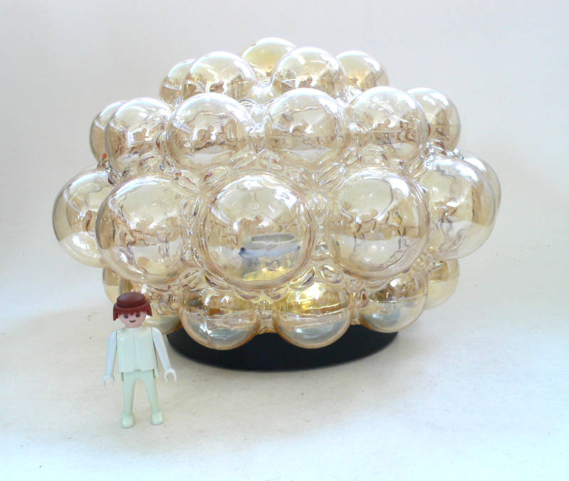 Helena Tynell Design Bubble Glass Ceiling Lamp 1960's