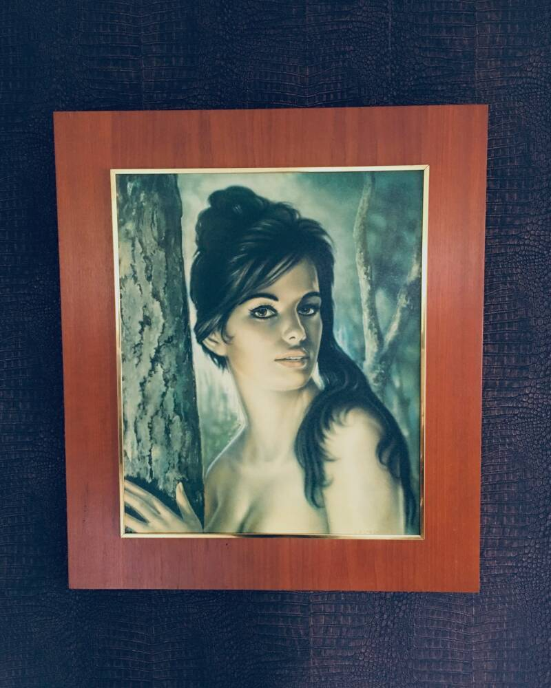 "Vintage 1960's ""Tina"" Art Print by J.H. Lynch"