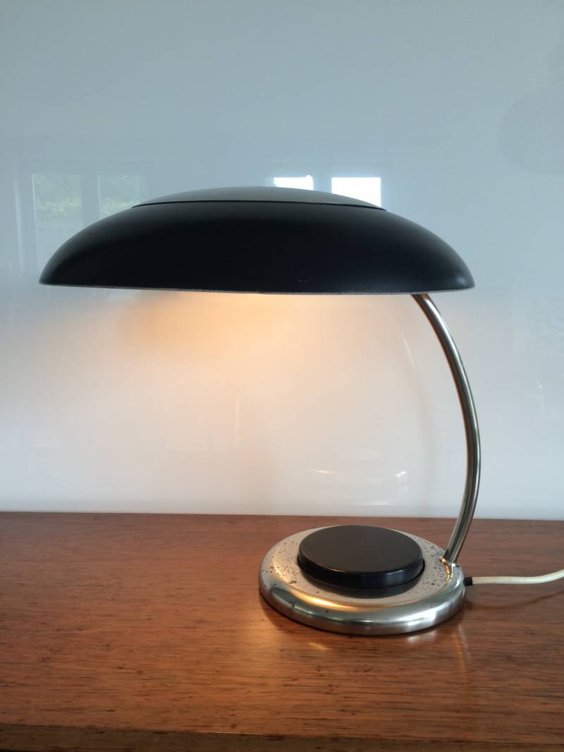 1950's Space Age large UFO Design Table Desk Lamp