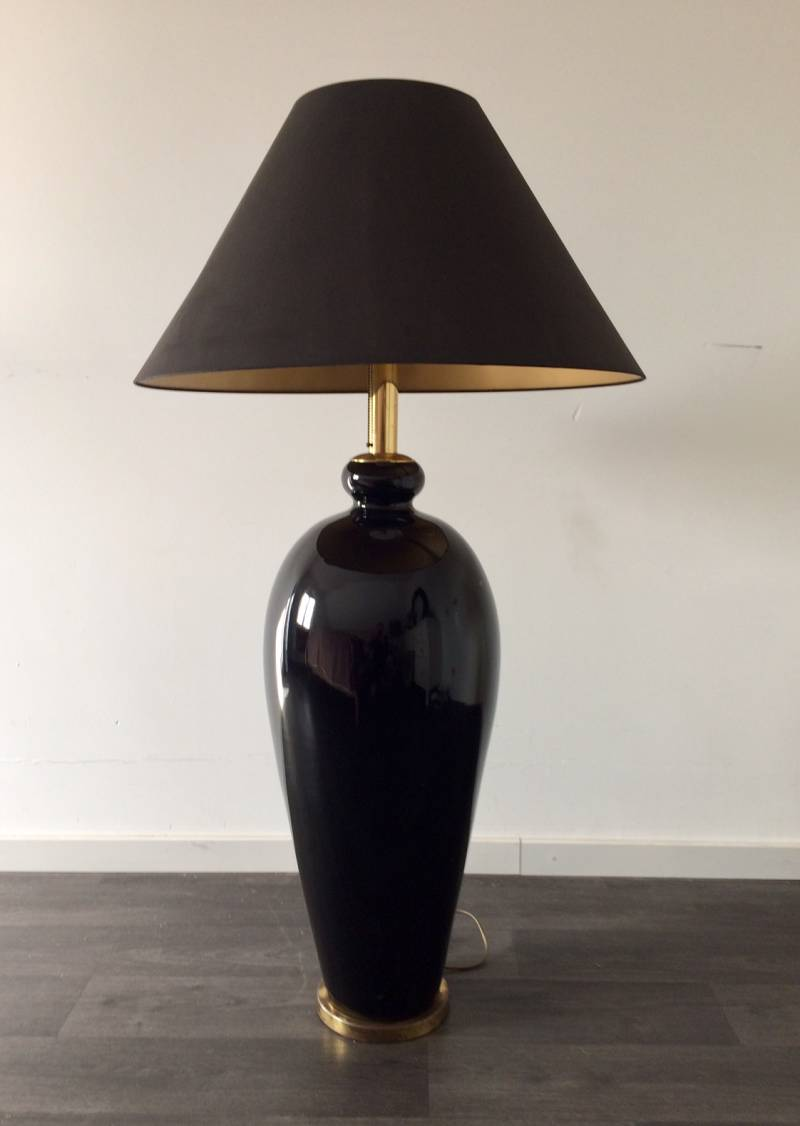 Midcentury 1970's Design Hollywood Regency Oversized Floor Lamp