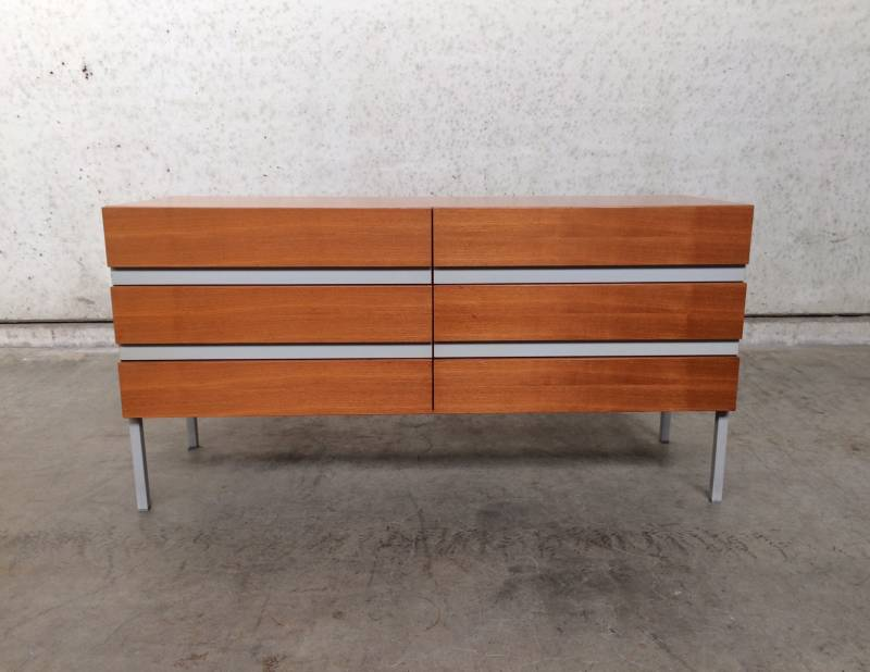 1960's Rosewood Sideboard Lowboard Chest of drawers by Interlübke Design
