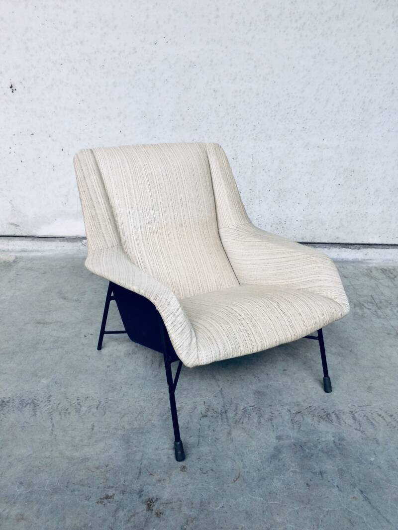 Original S12 Model Lounge Chair 2 by Alfred Hendrickx for Belform, Belgium 1958
