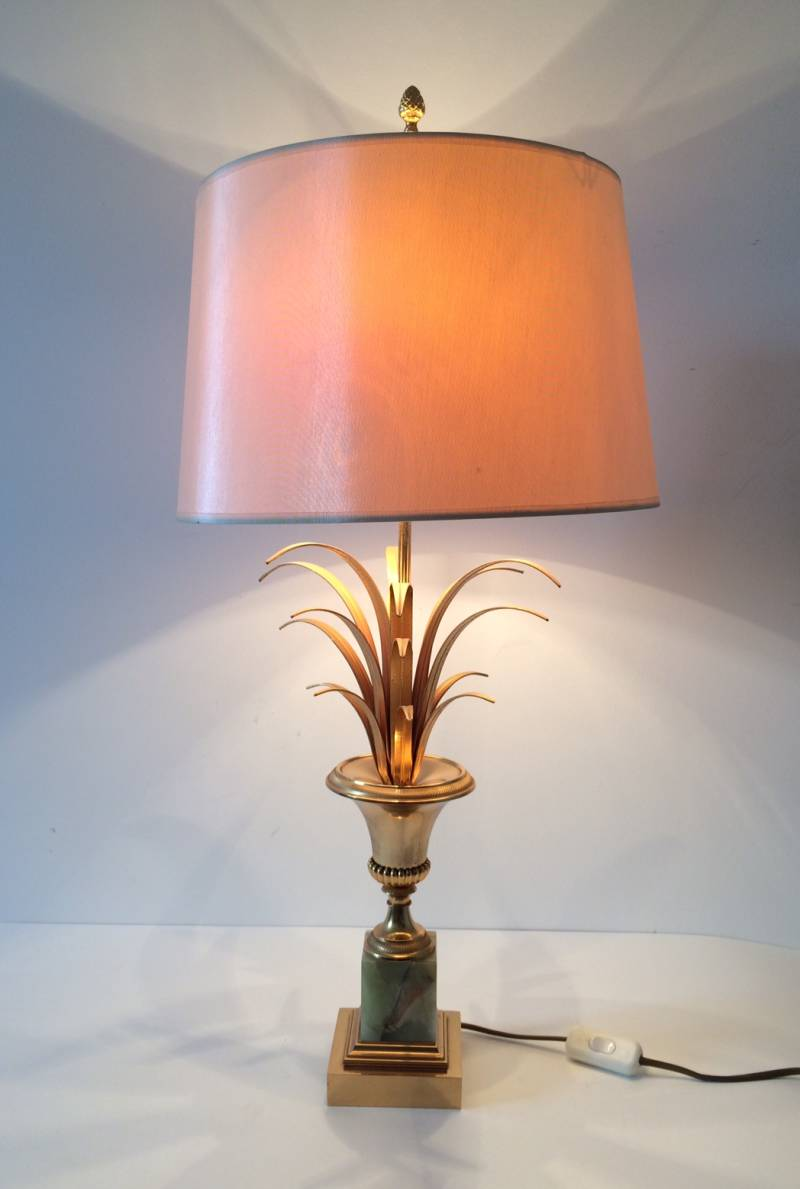 Hollywood Regency Style Palmier Lamp by Maison Jansen 1970's